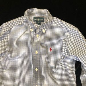 Ralph Lauren button down long sleeve shirt size 6